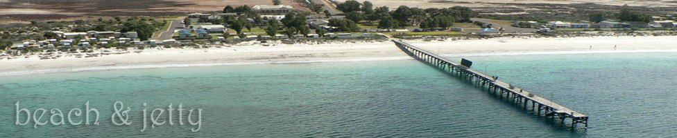 Arno Bay Jetty and Caravan Park - Absolute beach front!